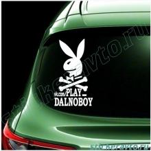 Наклейки на авто - Play dalnoboy