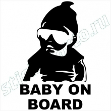 Наклейки на авто - Baby on board