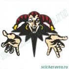 Джокер - Король и Шут (цветная)