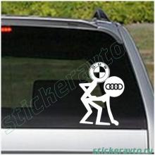 Наклейки на авто - BMW и ауди)
