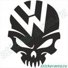 Volkswagen череп