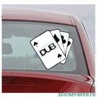 DUB pocker card's